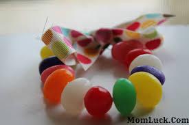 easter crafts for kids jelly bean bracelet