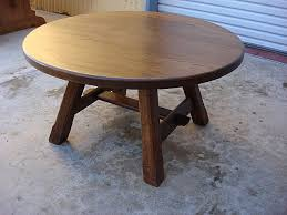 coffee table popular round rustic coffee table ideas distressed