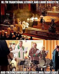 Simbang Gabi Memes - traditional vs modern liturgy vmntblog