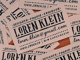 25 unique personalized business cards ideas on