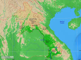 Map Of Laos Laos U0027 Physical Geography A Learning Family