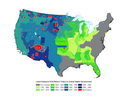 United States Map By Population by Native American Population Study