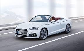 lexus hardtop convertible 2018 2018 audi a5 and s5 cabrios photos and info u2013 news u2013 car and driver
