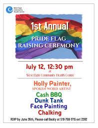 Pride Flag Colors 1st Annual Pride Flag Raising Ceremony Queerevents Ca