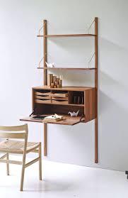 bureau avec rangement imprimante bureau avec rangement table bois mural etagere ouverte