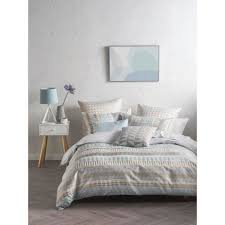 mod by linen house melodie quilt cover set