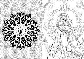 coloring elsa and anna coloring book pages looking for children