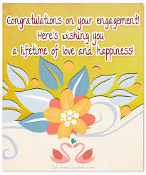 congratulations on your engagement card engagement wishes happiness