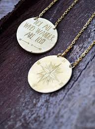 mens personalized necklace best 25 compass necklace ideas on diy necklaces with