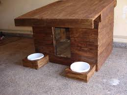 Plans To Build Wooden Dog House Modern Your Own Making A