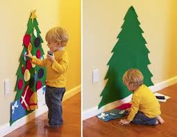 kids felt christmas tree u2013 pinlavie com