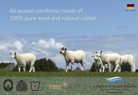 Wool Filled Comforter Wool Filled Comforters European Sleep Design Sacramento Folsom Ca