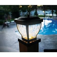 Solar Pillar Lights Costco - solar lighting outdoor lighting shop the best deals for nov