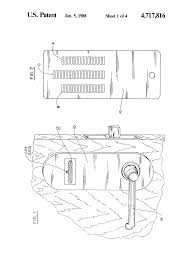 patent us4717816 electronic lock and key system for hotels and