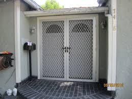 security front door for home amazing french storm doors iron front door frames interior styles