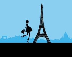 printable baby blue paris themed baby shower backdrop 3ft x