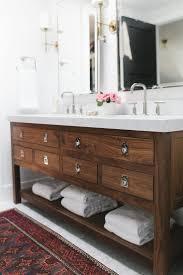 Wooden Bathroom Furniture Cabinets Solid Oak Bathroom Vanity Inexpensive Wood Countertops Diy Look