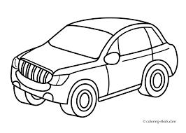 car coloring pages preschoolers glum