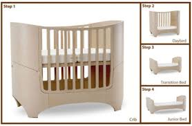 4 In 1 Convertible Cribs Leander 4 In 1 Convertible Crib From Tulip Small Space Living