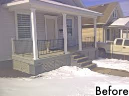 white vinyl porch railing deck systems lowes railings and posts