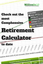 Retirement Planning Excel Spreadsheet Best 25 401k Retirement Calculator Ideas On Pinterest 401k