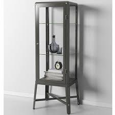 ikea fabrikor amazon com ikea fabrikor glass door cabinet dark gray lockable