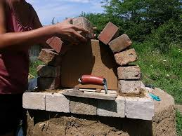 Building A Backyard Pizza Oven by Garden Design Garden Design With Build A Wood Fired Brick Oven