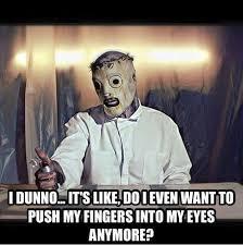 Slipknot Memes - jim root memes on twitter coreytaylormeme saw this on slipknot