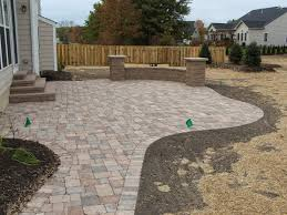 Paver Patio Images by Paver Patio Installation Cleveland Ohio Paver Patios
