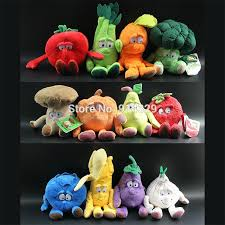 wholesale high quality plush fruits vegetables soft toys