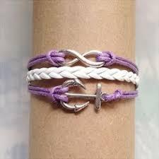 Items Similar To Love Anchors - infinity bracelet love anchor bracelet for girls girlfriend and