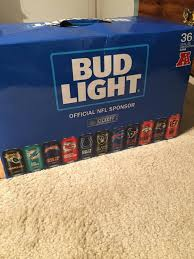 how much is a 36 pack of bud light fyi if you re looking for raiders beer cans oaklandraiders