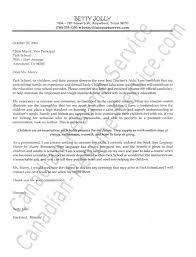 Cover Letter Examples For Paraeducator Cover Letter For Teachers Examples Gallery Cover Letter Ideas