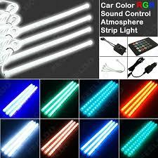 Led Light For Car Interior Feeldo Car Accessories 4pcs Car Interior Glow Decorative Wireless