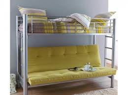 lit en hauteur avec canapé lit mezzanine 2 places avec canapé intérieur déco