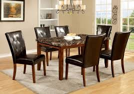 Stone Dining Room Table - dining room superb round marble table top black kitchen table