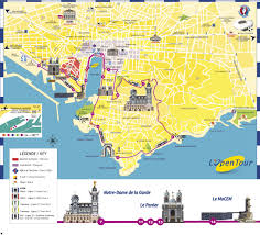One World Route Map by Colorbus Marseille Sightseeing Routes And Tickets