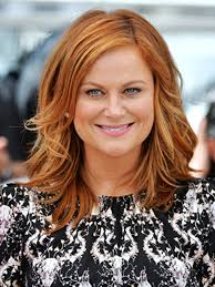 what is the hair color for 2015 amy poehler s hair is bright red at cannes allure