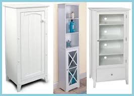 Narrow Storage Cabinet For Bathroom Chic White Bathroom Storage Cabinet Bathroom Storage Cabinets