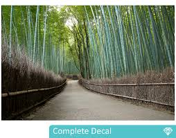 bamboo grove wall mural your decal shop nz designer wall art bamboo grove wall mural