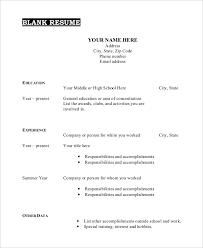 Free Online Resume Builder Printable by Download Printable Resume Haadyaooverbayresort Com