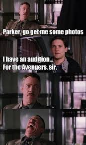 Peter Parker Memes - funny meme spiderman idk the avengers peter parker marvel spider