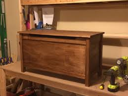 How To Build A Wood Toy Box Bench by Get Free Plans For A Toy Box Any Kid Would Love