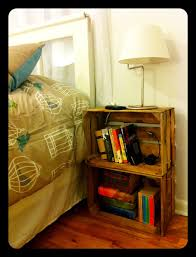 Wooden Crate Nightstand 41 Best Wooden Crate Images On Pinterest Wooden Crates