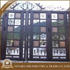 ornamental iron work wrought metal gate design steel gate