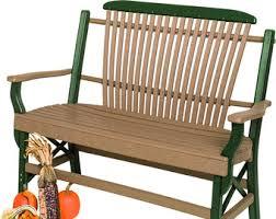 garden bench etsy