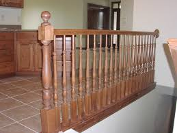 Replacing A Banister And Spindles Wooden Stair Rails U2013 Stair Case Design