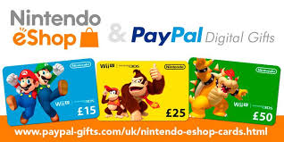 eshop gift cards you can now buy and gift nintendo eshop cards with paypal in