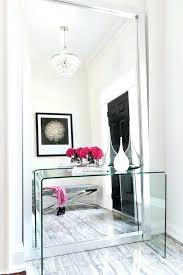 hallway table and mirror sets entrance table with mirror regency mirrored console table vanity