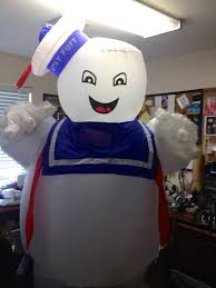 Stay Puft Marshmallow Man Costume Wearable Stay Puft Marshmallow Man Costume 7 Steps With Pictures